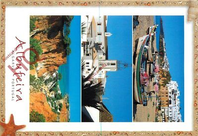 Picture Postcard; Algarve, Albufeira (Multiview)