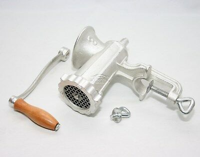 Heavy Duty Hand Operated No 8 Cast Iron Meat Mincer Grinder Kitchen Meat Maker