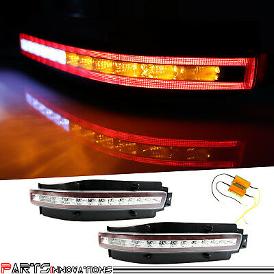 Fairlady Z Clear Full LED Rear Reverse Backup Lights for 03-09 Nissan 350Z Z33