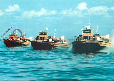 Picture Postcard~ HM218 SIDEWALL HOVERCRAFT