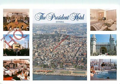 Picture Postcard~ Istanbul, The President Hotel (Multiview)