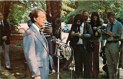 Picture Postcard~ President Jimmy Carter, Press Conference
