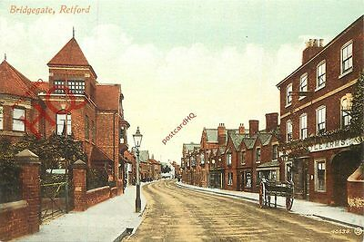 Picture Postcard~ Retford, Bridgegate (Multiview)