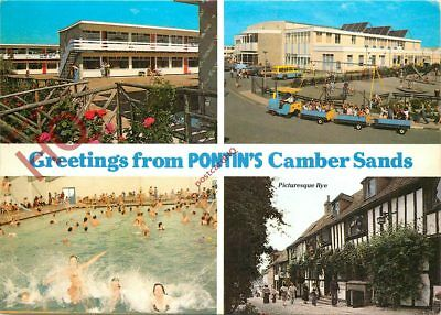 Picture Postcard~ Pontin's, Camber Sands (Multiview)