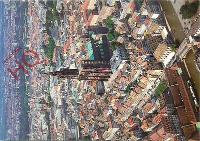 Picture Postcard~ Strasbourg, Aerial View