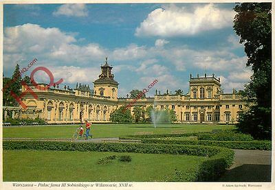 Picture Postcard~ Warsaw, Wilanow Palace