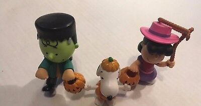 Peanuts Halloween figures  Snoopy Charlie Brown Lucy worldwide CVS 2016