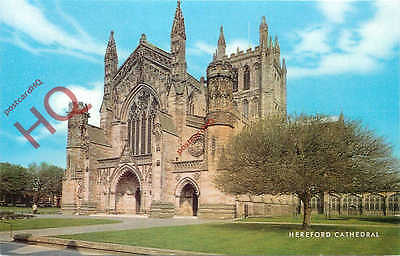 Picture Postcard: Hereford Cathedral [Salmon]