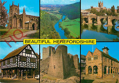 Picture Postcard--Beautiful Herefordshire (Multiview)