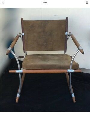 RARE JENS QUISTGAARD Gubi or Safari chair, VINTAGE, early signed all original
