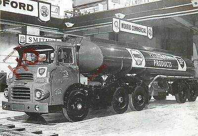 Picture Postcard--Bp Scammell Articulated Petrol Tanker