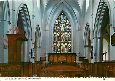 Picture Postcard: Downpatrick, Interior Of Cathedral [Valentine's]