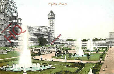 Picture Postcard: London, Crystal Palace