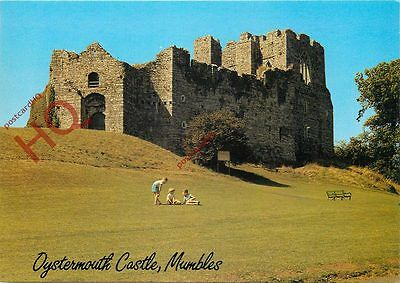 Picture Postcard: Oystermouth Castle, Mumbles