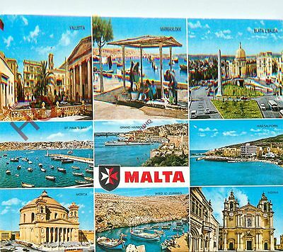 Picture Postcard, Malta (Multiview)