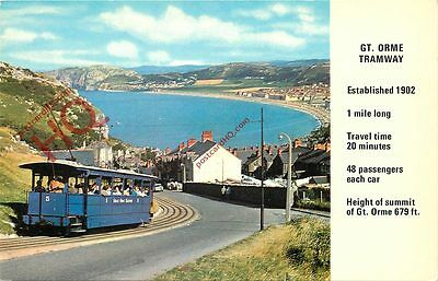 Picture Postcard, GREAT ORME TRAMWAY