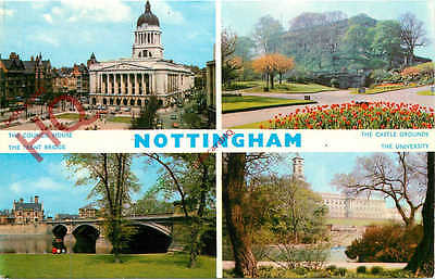 Picture Postcard, Nottingham (Multiview) [Dennis]