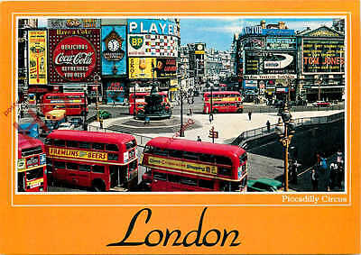 Picture Postcard, London, Piccadilly Circus
