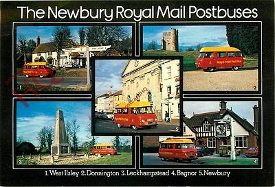Picture Postcard::Royal Mail, Postbuses, Newbury (Multiview)