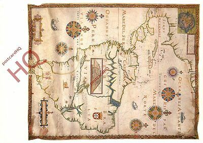 Picture Postcard::South America, Map [Art Unlimited]