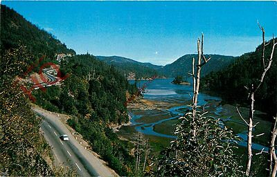 Picture Postcard::Victoria, Malahat Highway