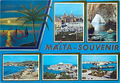 Picture Postcard:;Malta (Multiview)