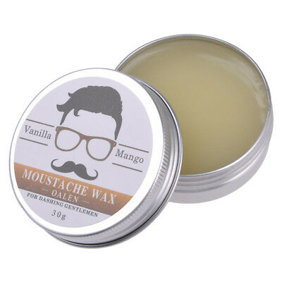 30g Men 100 Natural Ingredient Moustache Moisturizing Smoothing Oil Wax Bread