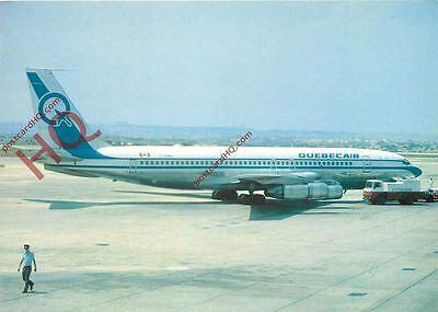 Picture Postcard:;QUEBECAIR BOEING 707