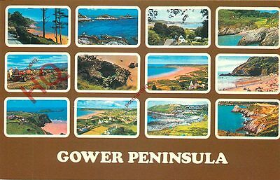 Picture Postcard:;Gower Peninsula (Multiview)