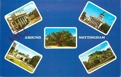 Picture Postcard-:Around Nottingham (Multiview)