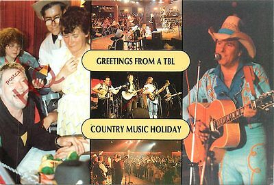 Picture Postcard:;Greetings From A Tbl Country Music Holiday (Multiview)