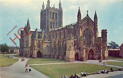 Picture Postcard:;Hereford Cathedral