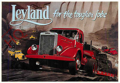 Picture Postcard:;LEYLAND SUPER HIPPO (REPRO) [MAYFAIR]