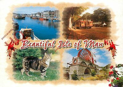 Picture Postcard:;Isle Of Man (Multiview)