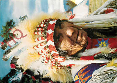 Picture Postcard:-Canadian Indian Chief