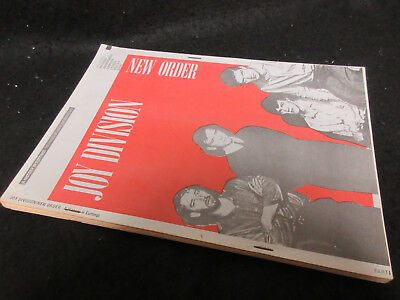 Joy Division New Order History in Cuttings Part 1 UK Fanzine Book Factory Label