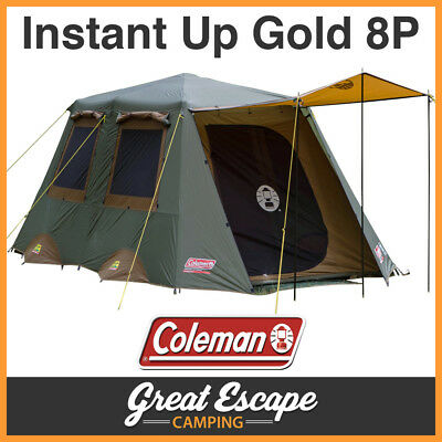 Coleman Instant Up 8 Tent - Gold Series 8 Person
