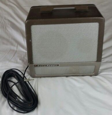 RARE VINTAGE Bell & Howell 16mm Projector Extension Speaker Box w/ 3 SPEAKERS