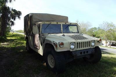 1986 AM General Hummer H1 Military Humvee Diesel PR ICED TO SELL Excellent 4x4