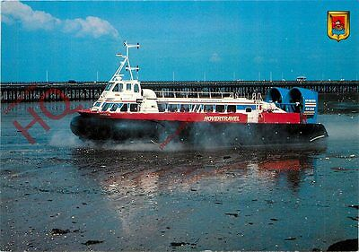 Picture Postcard; HOVERCRAFT, HOVERTRAVEL GH 2114 'FREEDOM 90'