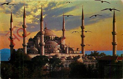 Picture Postcard; Istanbul, The Blue Mosque