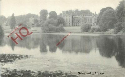 Picture Postcard; Newstead Abbey