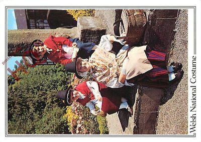 Picture Postcard; Welsh National Costume