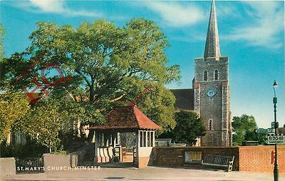 Picture Postcard; Minster, St. Mary's Church