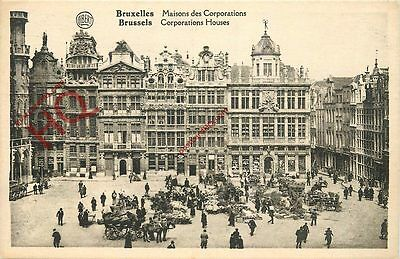 Picture Postcard~ Brussels, Corporations House