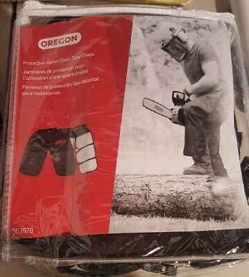 """Oregon 563979 Chainsaw Protective Chaps, 36"""", Black, New (B82SS)"""