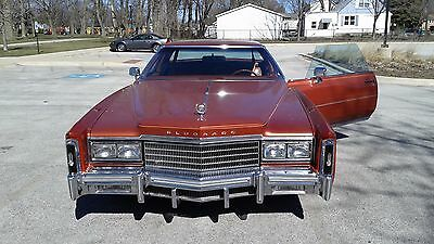 1977 Cadillac Eldorado copper Cadillac Eldorado 1977 ORIGINAL MILEAGE LESS THEN 52 K EXC CONDITION Chicago IL