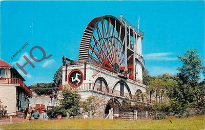 Picture Postcard--Isle Of Man, Laxey Wheel