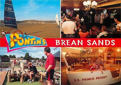 Picture Postcard--Pontin's, Brean Sands (Multiview)