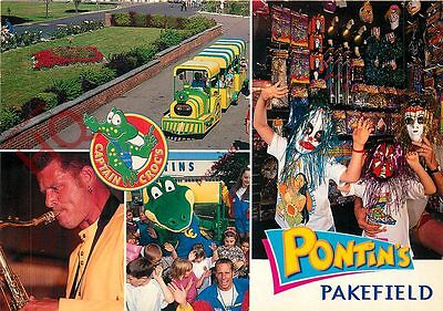 Picture Postcard--Pontin's, Pakefield (Multiview)
